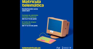 PROCESO DE ADMISIÓN DEL ALUMNADO EN LOS CENTROS EDUCATIVOS DE LA COMUNIDAD VALENCIANA CURSO 2020-2021