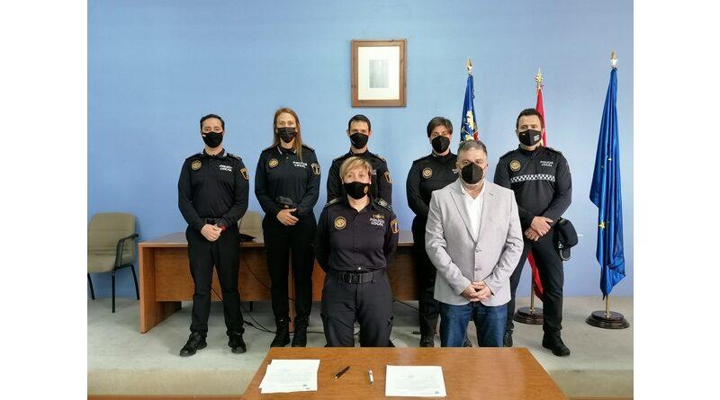 Cinco nuevos policías locales se incorporan a la plantilla de Villena